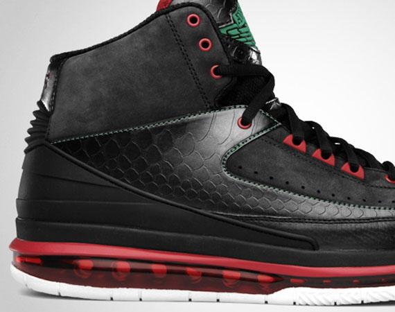 Air Jordan 2.0 - Black - Classic Green
