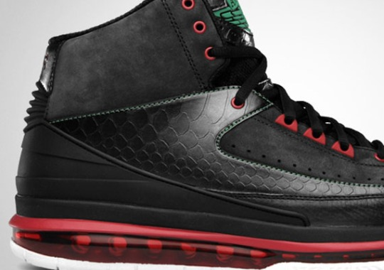 Air Jordan 2.0 – Black – Classic Green – Varsity Red | Release Reminder