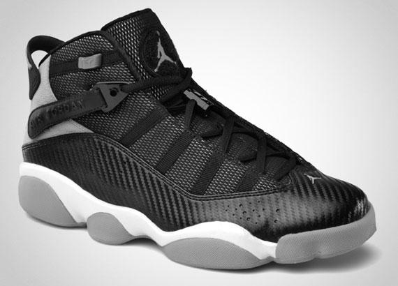Jordan 6 Rings 'Carbon Fiber' - Release Date - SneakerNews.com Jordan 6 Rings