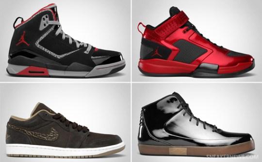 Jordan Brand October 2011 Footwear