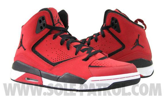 Nike Air Jordan Sc-2 Fac Huaraches Rouges