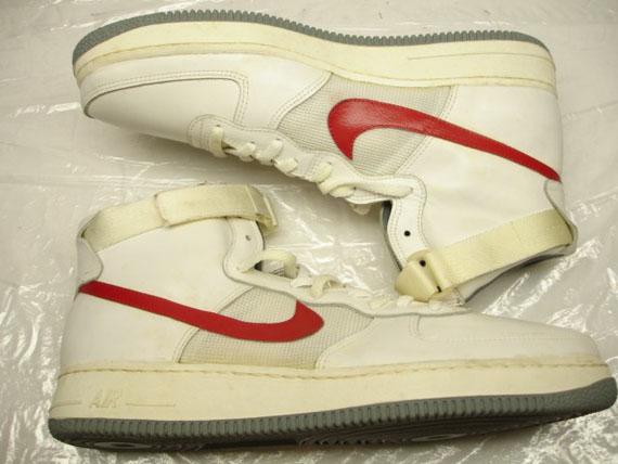 more photos 1449e cbe5f Nike Air Force 1 High OG – White – Grey
