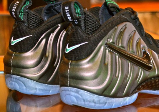 buy popular 7f0a1 764a7 Nike Air Foamposite Pro Dark Pine - SneakerNews.com
