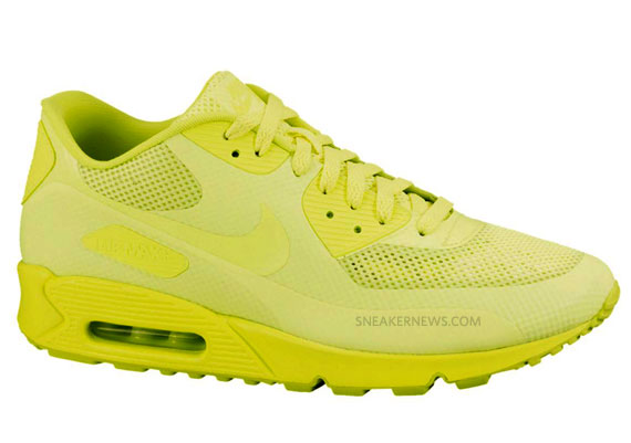 Nike Air Max 90 Hyperfuse - Volt - SneakerNews.com