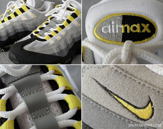 official photos 11521 58e0b high-quality Nike Air Max 95 Neutral Grey Varsity Maize   New Images