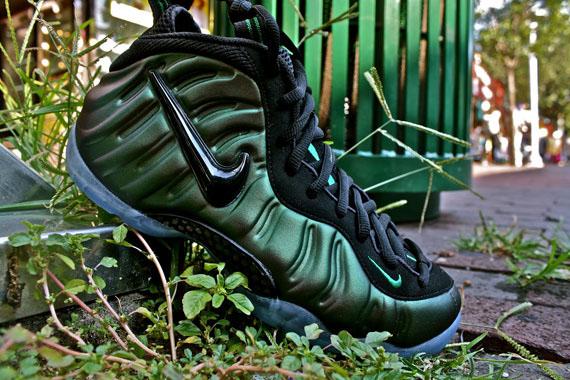 936de777d409a Nike Air Foamposite Pro  Pine Green  - Release Event   Moe s Sneaker Spot -  SneakerNews.com
