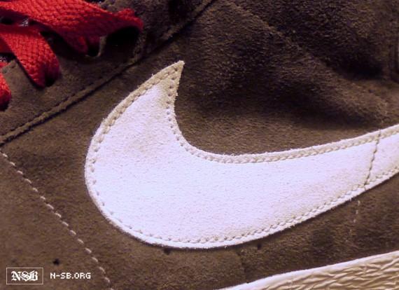 best loved e173a 6dfc4 Nike SB Blazer High - Grey - White - Red - SneakerNews.com