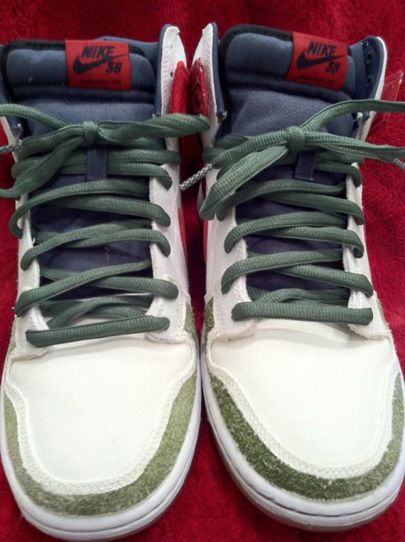 uk availability b8049 0b106 Nike SB Dunk High 'Cheech & Chong' - 'Un-rolled ...