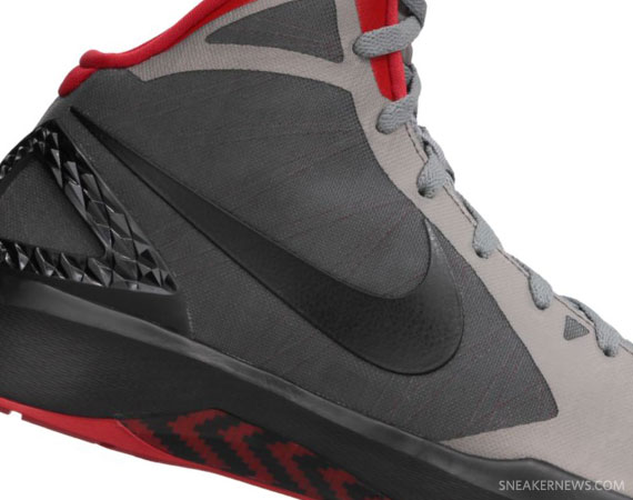 size 40 ff1b7 d75e9 Nike Zoom Hyperdunk 2011 – Cool Grey – Black – Sport Red