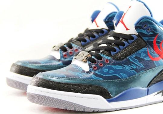 SBTG x Titan x Air Jordan III – New Images