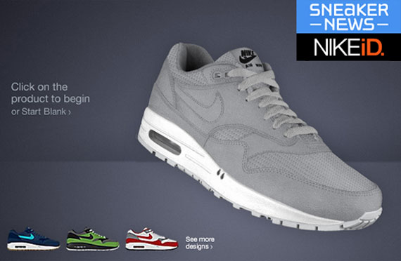 new product c0524 ebf78 ... Sneaker News Nike Air Max 1 iD Design Contest - SneakerNews.com ...