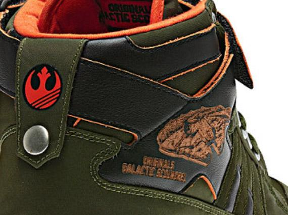cheap for discount a5891 3ad12 Star Wars x adidas Originals Forum Mid – Han Solo