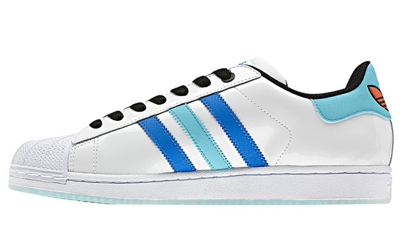 Cheap Adidas Men's Superstar Adicolor Shoes Halo Blue S80329 a 13