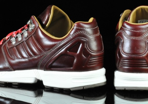 120cc64afa40e adidas Originals ZX 8000 - Brown Leather - Wheat - Cream ...