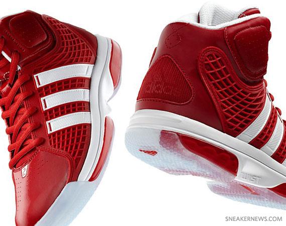 quality design 34ce8 253f3 adidas adiPower Howard – University Red – White
