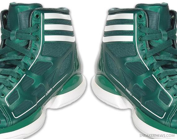 adidas adiZero Crazy Light - Green - White - SneakerNews.com eec6879552