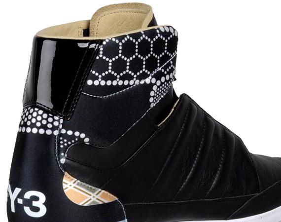78633904c adidas Y-3 Honja High - Black - White Dots - SneakerNews.com