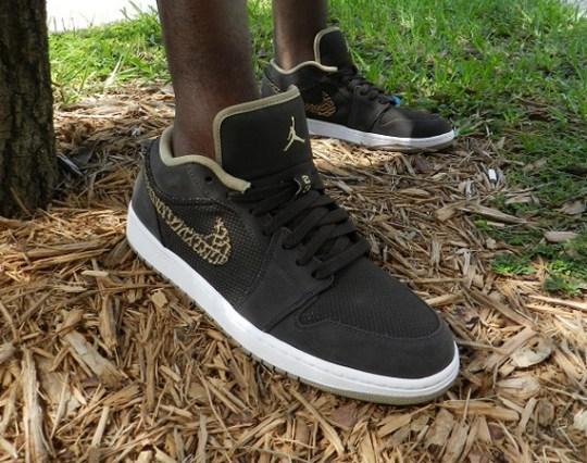 Air Jordan 1 Phat Low – Velvet Brown – Khaki | Available