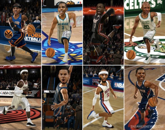 Air Jordan 2011 PE's In NBA Jam: On Fire Edition