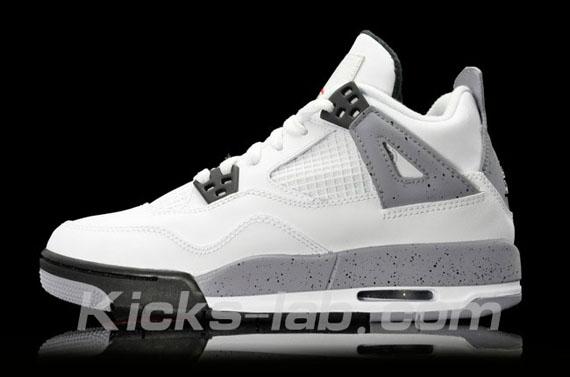 Air Jordan 4 GS - White - Cement - 2012 Retro - SneakerNews.com