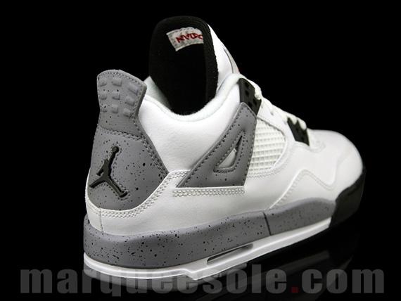 Air Jordan 4 White Cement GS