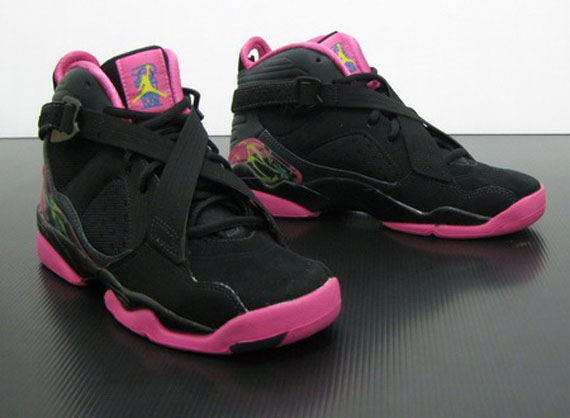 Griffey Shoes Black And Pink