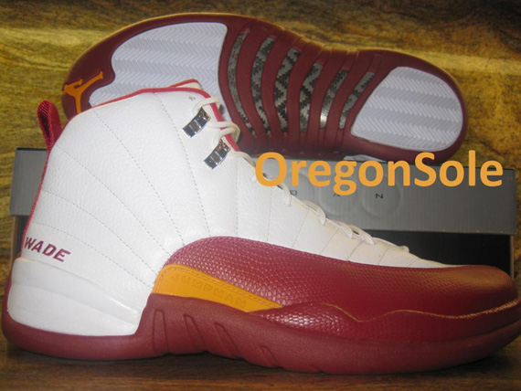 cheaper 1377e 0e7ed Air Jordan XII Miami Heat Home PE. —