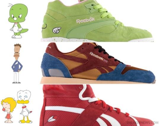 Kasina x Reebok 'Dooly the Little Dinosaur' Pack