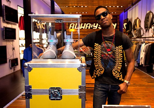 Kid Cudi Wins Four Nike Mag 2011 Auctions