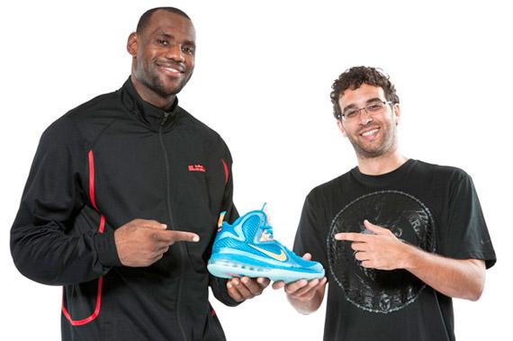 Jason Petrie Talk Nike LeBron 9