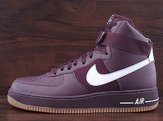 1 Deep High Nike WhiteAvailable Air Force Burgundy cq5RjLA34