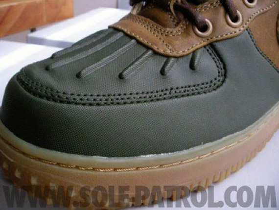 buy online 6beec f4bb2 greece nike air force 1 duckboot 2013 brown green c2ec1 6e95e
