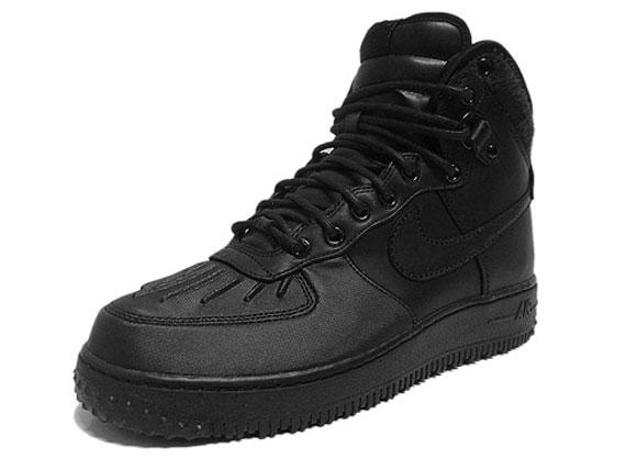 buy online 6c786 68bd9 nike air force 1 high duckboot black