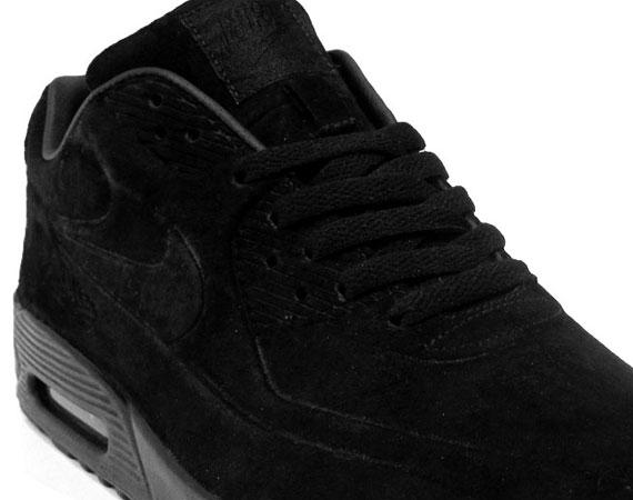 new concept d2177 012df Nike Air Max 90 VT – Black Suede