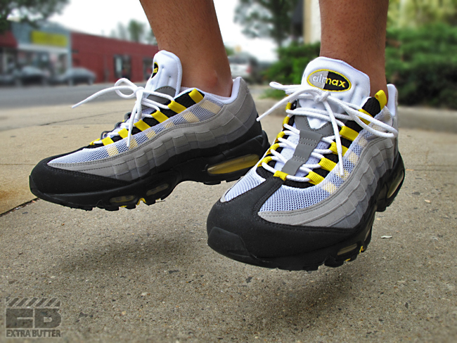 Nike Air Max 95 - Tour Yellow   Available - SneakerNews.com