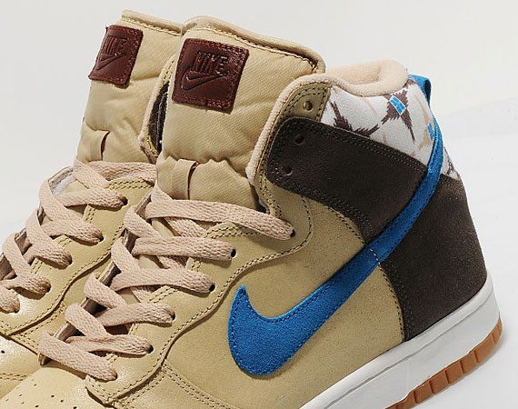 Atrevimiento compromiso Acusación  Nike Dunk High 'Aztec' - Sand - Blue - Iron Grey - SneakerNews.com