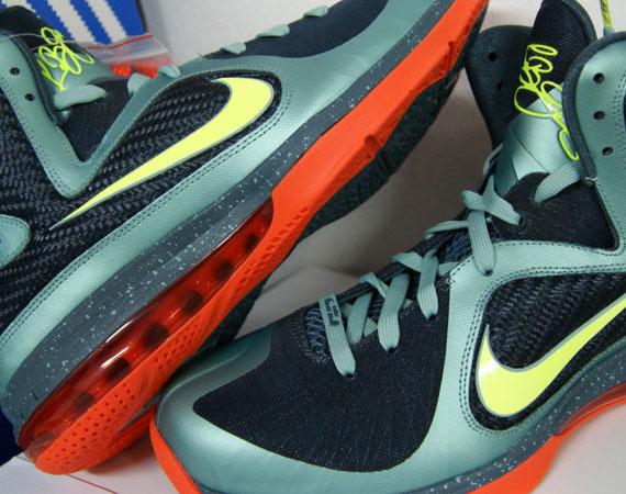 631ac942be5d 2015 Cheap Nike Cannon Volt Slate Blue Team Orange Nike Lebron 9 ...