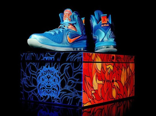 Nike LeBron 9 China Edition Packaging