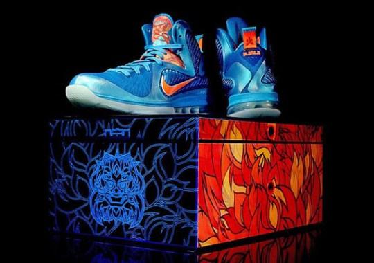 Nike LeBron 9 China Edition Packaging