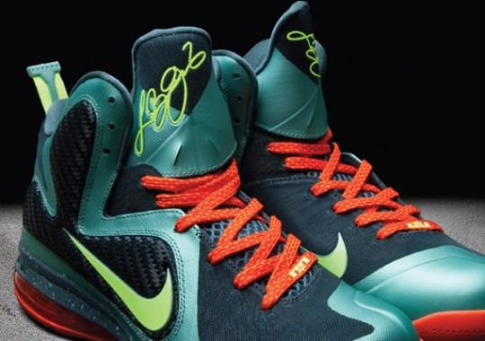 Nike LeBron 9 'Miami'