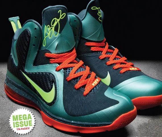 brand new 5d0b1 9e718 delicate Nike LeBron 9 Release Info