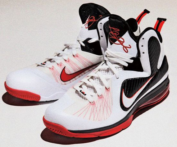 wholesale dealer 66a20 91c47 Another colorway of the LeBron 9 thats set to drop very soon is this all-  new white-based Miami Heat home colorway.
