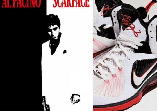 on sale 41b22 cc9ca Nike LeBron 9 Scarface – Miami Heat Home