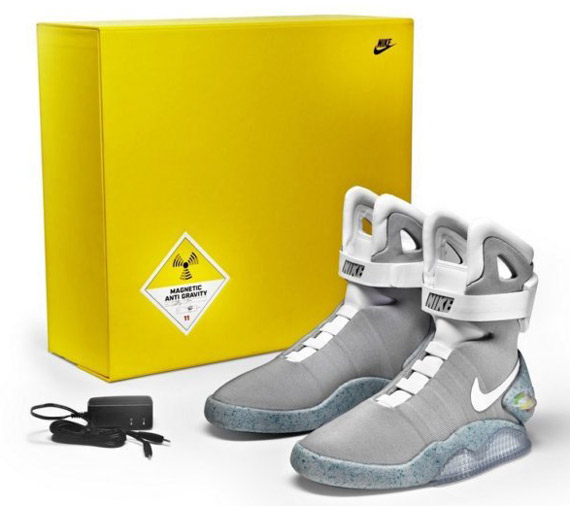5b7584f728a Nike Mag 2011 Charity Auctions on eBay - LAST DAY! - SneakerNews.com