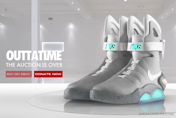 lowest price 9296d 185d0 Nike Mag 2011 – Full Auction Recap