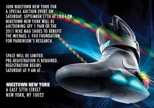 Nike Mag 2011 Live Auction @ Niketown, NY