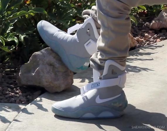 buy popular b9b4d c4a27 Nike Mag 2011 On Feet Video
