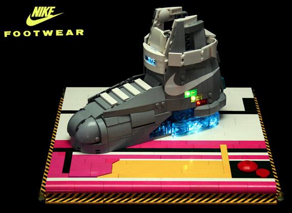 Nike Mag Lego Replica By Orion Pax Sneakernews Com