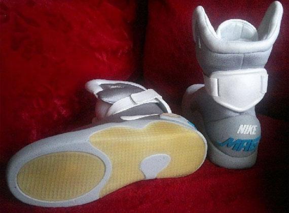 dc03288c8ee9a9 Nike Mag Custom Replica on eBay - SneakerNews.com