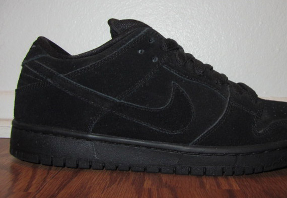 Nike Dunk Low Pro Black-out 3b1yp